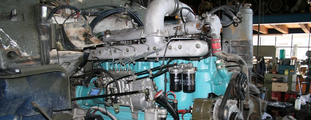 Lastwagen-Reparaturen